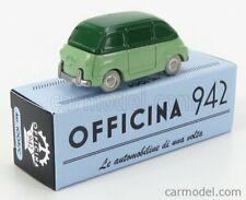 Officina 942 art1009c scala 1/76 fiat 600 multipla 1956 2 modellino auto