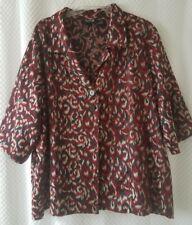 Maggie Barnes 4X Jacket Blazer Jacquard
