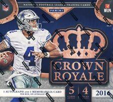 2016 Panini Crown Royale Caixa De Varejo De Futebol