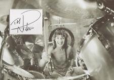 NICKO McBRAIN Signed 12x8 Photo Display IRON MAIDEN COA
