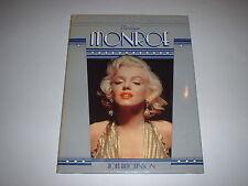 The Screen Greats : Marilyn Monroe by Tom Hutchinson 1983 HCDJ Movies Hollywood