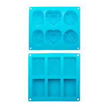 420 Focus Silicone Soap Bar Mold Kit (2-Pack)