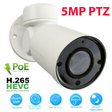 GW 5MP 1920P Pan Tilt Zoom HD IP PoE 4X Optical Zoom Security Bullet PTZ Camera