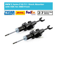 Pair Front Air Suspension Gas Shock Absorber Strut Fit BMW 5-Series F10 F11 535i