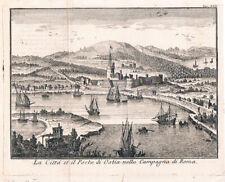 1751 - OSTIA - SALMON - ACQUAFORTE ORIGINALE