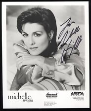 Michelle Wright Signed 8x10 Photo Autographed Photograph Vintage Signature