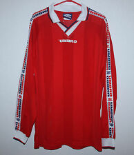 Vintage Umbro shirt red Long Sleeves