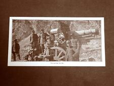 WW1 Prima guerra mondiale 1914-1918 Artiglieria Italiana Mortaio da 260