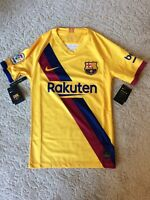 NIKE 2019-20 BARCELONA AWAY JERSEY MEN'S SIZE X SMALL (XS) (AJ5531-728) NWT
