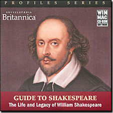Encyclopedia Britannica Guide to Shakespeare  The Life and Legacy of William