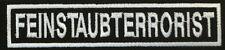 Feinstaubterrorist - Patch - Kutte - Aufnäher - Biker - Streetfighter