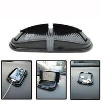 Black Car Dashboard Magic Anti-Slip Mat Sticky Pad iPhone key Holder 155x97mm