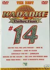KARAOKE COLLECTION #14 THE BEST DVD NEU & OVP D65