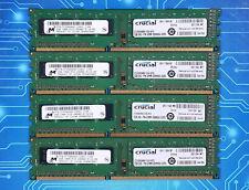 8GB (4x2GB) PC3-10600u DDR3-1333MHz 1Rx8 Non-ECC Crucial CT25664BA1339.8FR