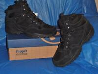 Propet, Men's WaterProof Boot, Leather & Nylon..Sure Grip Rubber Sole,14 M ( D )