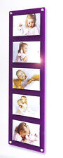 """Cheshire Acrylic multi magnetic gloss 5 x 7 """"/ 7 x 5 """" picture photo frame"""
