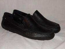 Mens Tommy Bahama Black Loafers / Shoes Nassau Venetian Size 9.5