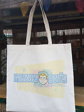 Rockabilly,Greaser,Franky Boy`s Apparel Large Tote Bag,Canvas,Cotton,Strong !!
