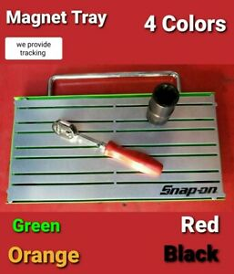 """SNAP ON tools magnet tool Organizer Holder Tray 12""""X6"""" and easy transport handle"""