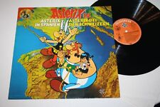 """ASTERIX 4 Asterix in Spanien /bei den Schweizern Vinyl VG+ 12"""" LP TOM UND DELLA"""