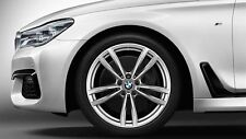 "BMW 7 SERIES G11 G12 M DOUBLE SPOKE 647M Winter Complete Wheel Set 19 """