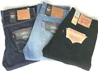 Levi's 501 Jeans - Regular Straight Fit - Stonewash - Onewash - Penne (hellblau)