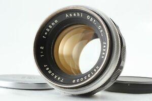 【Opt NEAR MINT+++】 Asahi Pentax Takumar 58mm f2 MF Lens for M42 Mount From JAPAN