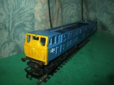 TRIANG HORNBY BR CLASS 31 BLUE BODY MINUS ROOF AND UNPOWERED BOGIE ONLY - No.1
