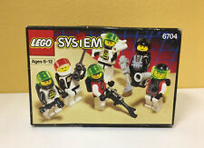 LEGO NEW SEALED Vintage Space 6704 Minifigure Pack Lot Blacktron MTron 90's Set