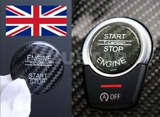 AU STOCK GENUINE CARBON Cover Engine Start Stop Push Button for BMW X5 X6 BLACK