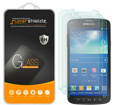 3X Supershieldz Samsung Galaxy S4 Active Tempered Glass Screen Protector Saver