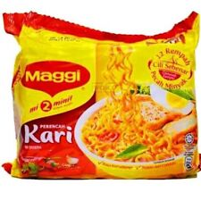 Maggi Curry 2 Minutes Instant Noodles 5 X 79g