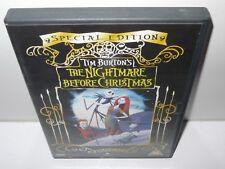 pesadilla antes de navidad - tim burton - dvd