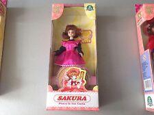 Vintage#Card Captor Sakura Action Figure Doll#Bandai Nib