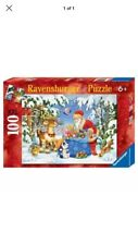 Ravensburger Christmas puzzle Santa and His Pack 2011 XXL 100 pieces No. 106547