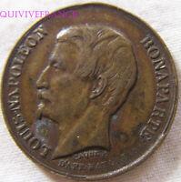 MED9685 - MEDAILLE JETON LOUIS NAPOLEON BONAPARTE VOYAGE A BORDEAUX 1852