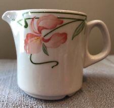"Villeroy & Boch Miami Peach Iris Creamer 2 1/2"" Tall Luxembourg Ceramic"