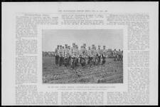 1904 Antique Print - RUSSO-JAPANESE Feng-Hwang-Cheng Bugle Corps Uniform (24)