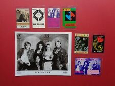 HEART,promo photo,7 Rare backstage passes,Various Tour Originals,