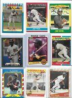 Tony Gwynn Padres Lot of (30) Different 1983 Donruss Rookie Rare Sub Sets Mint