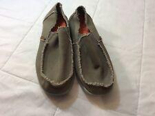 Crocs Men's Santa Cruz Luxe Slip-ons - Khaki Size 7 MINT