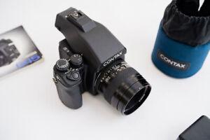 Contax 645 - Zeiss 80mm - full set