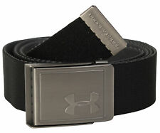 Under Armour Webbing Belt - Black / Pitch Grey - New
