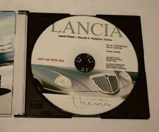 Werkstatthandbuch LANCIA THESIS Reparaturanleitung - CD