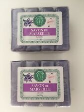 lot de 8 Savon authentiques de Marseille Lavande 8 x 100g savonnerie depuis 1903