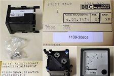 BBC GOERZ METRAWATT Strommesser EQ 48, Messbereich 6-12A
