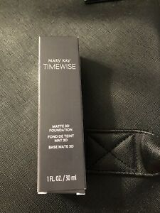 MARY KAY TIMEWISE MATTE 3D FOUNDATION~BRONZE W 100!