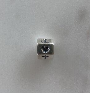 Pandora ALE Sterling Silver 925 Faith Hope Love Heart Anchor Cross Charm #790119