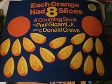 Each Orange Has 8 Slices Counting Teacher Big Book Gigante Crews Numbers PK+