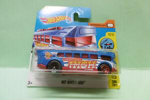 BUS HIGH autobus autocar HOT WHEELS HOTWHEELS NEUVE 1/64 3 inches
